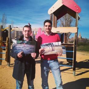 Ciutadans (Cs) Sant Cugat vol paviment de cautxú als parcs infantils