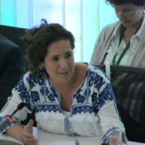"""Munia Fdez-Jordán """"Sra Conesa, usted es más independentista que democráta"""""""