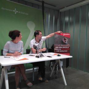 Ciutadans (Cs) Sant Cugat defensa una escola pública, trilingüe i de qualitat per a Sant Cugat