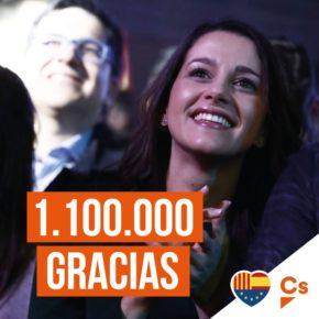 ¡1.100.000 Gracias!