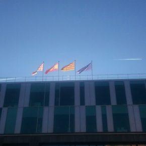 Ciutadans (Cs) Sant Cugat satisfecho por la reposición de las banderas en el Ayuntamiento