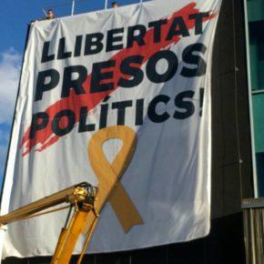 Ciutadans (Cs) Sant Cugat denunciarà la nova pancarta partidista penjada a la façana de l'Ajuntament