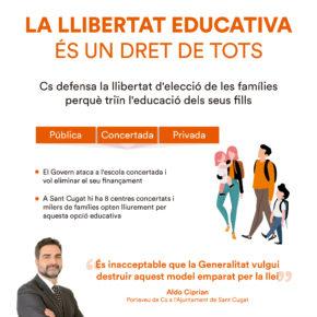 La llibertat educativa és un dret de tots