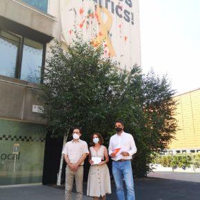 Ciutadans aconsegueix que l'Ajuntament de Sant Cugat hagi de retirar la simbologia partidista de la façana